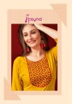 Psyna pari vol 4 rayon slub daily wear straight kurties collection