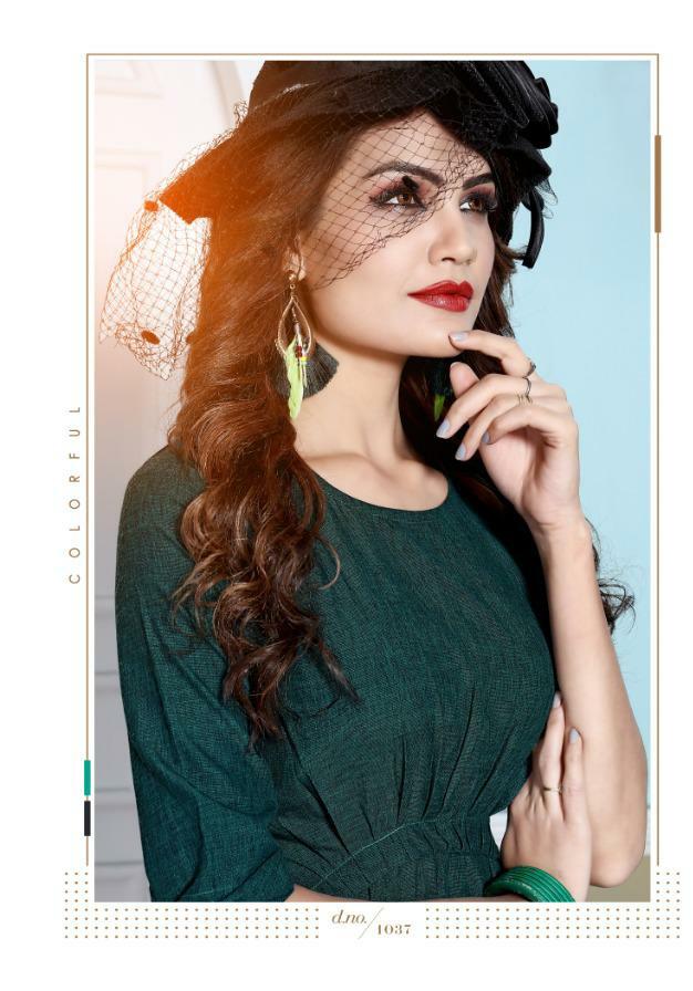 Rani Trendz top model 5 fancy collections of Kurties