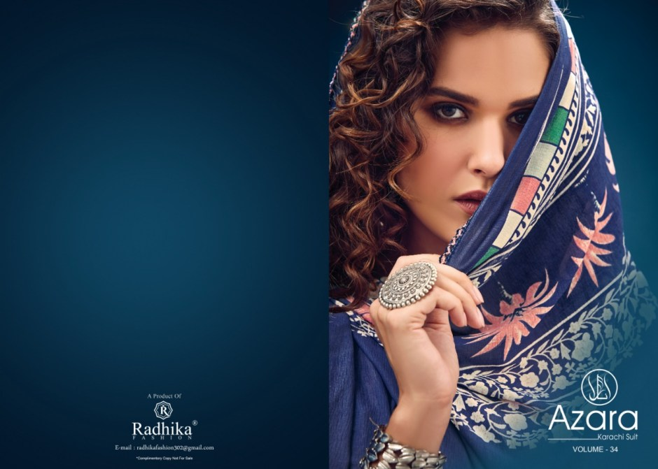 Rashika fashion azara vol-2 camric print Salwar kameez
