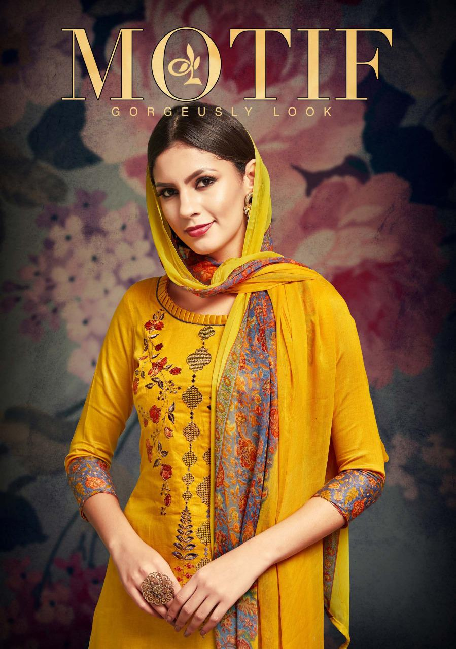 Sargam prints motif cotton designer suits collection