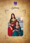 Shangrila Gulmarg heavy designer hand work colorful sarees