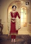Alok suit Alankar premium embroidery collection of Salwar suits