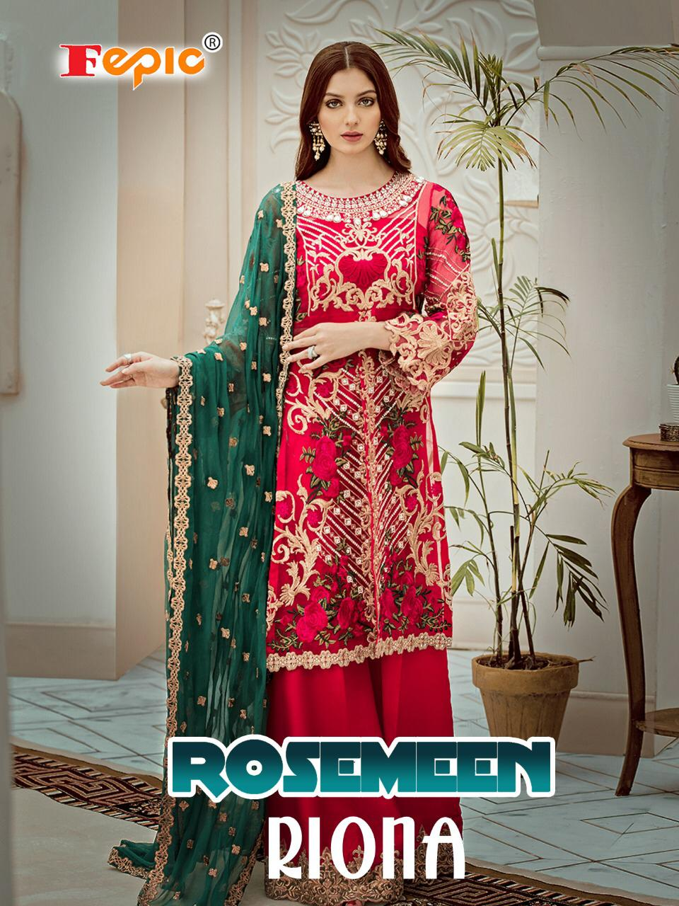 Fepic rosemeen riona premium collection of Salwar suit