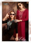 Kajree fashion lily vol 15 daily wear straight kurties collection at wholesale rate