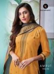 Kalarang creation amrut vol 2 embroidered cotton silk salwar kameez collection at wholesale rate
