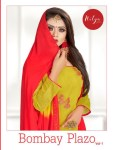 LT Bombay Plazzo 1 colorful collection of Salwar suit