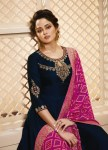 Lt nitya vol 41 nx party wear ethnic gowns with beautiful dupatta collection