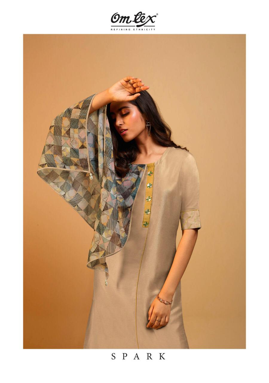 Omtex spark Premium quality of Kurties with scarf