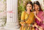 Saroj silk touch border printed saree in wholesale price