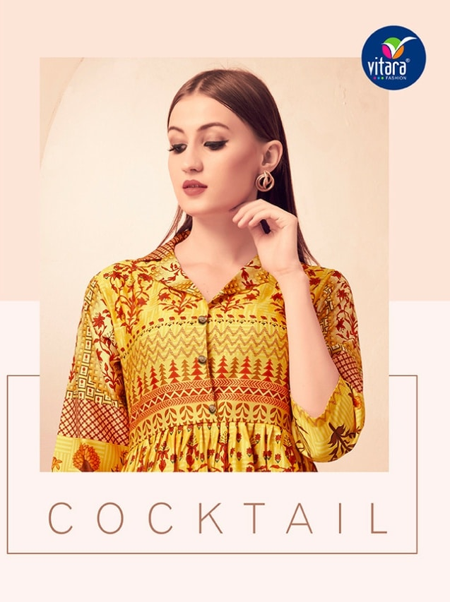 Vitara fashion cocktail exclusive collection of designer gown