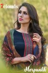 7 clouds morpankh attractive and stunning look beautifully designed Salwar suits