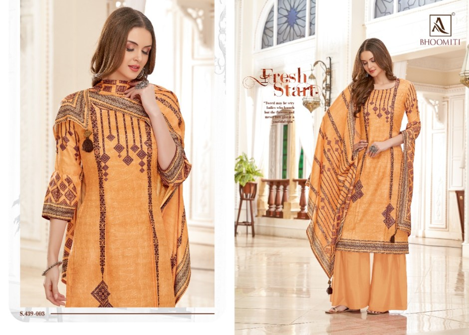 alok suit bhoomiti innovative style beautifully designed pashmina salwar suits