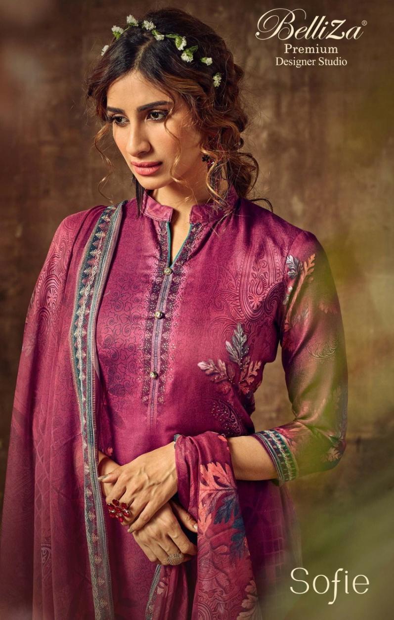 Belliza designer Sofie modern and classic trendy look astonishing style beautifull Salwar suits