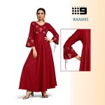 channel 9 raashi innovative style long kurti catalog