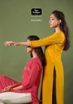 four buttons rozana beautiful kurties with bottom collection at wholesale price catalog