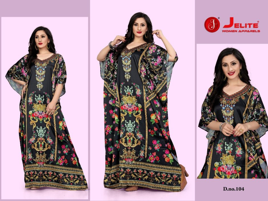 Jelite Kaftans gown nighty classic trendy look Gowns