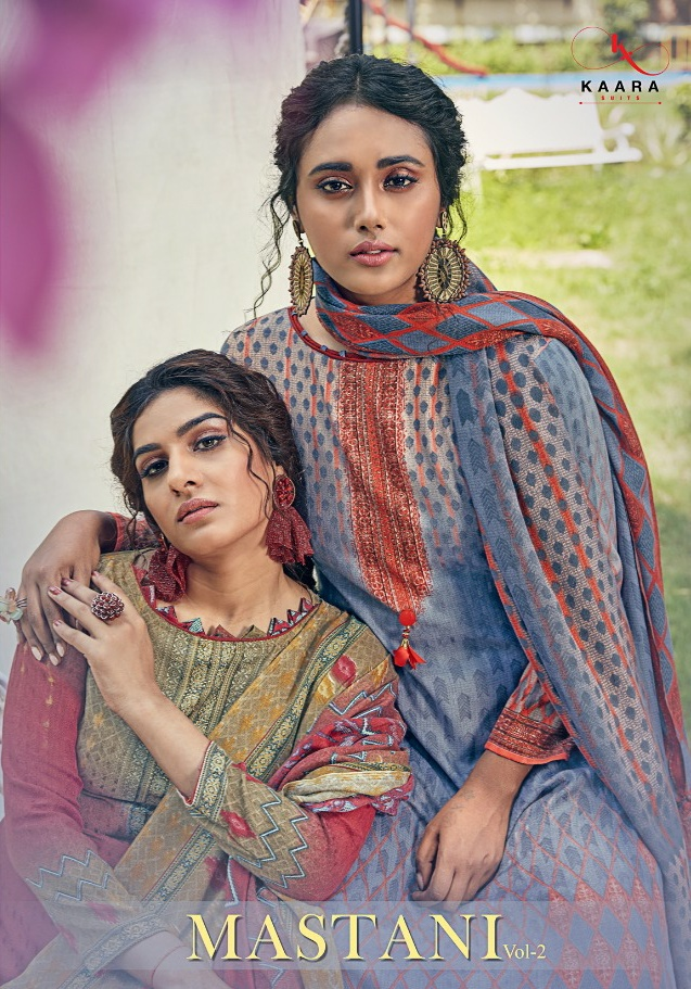 Kaara Suits Mastani Vol-2 elegant and stylish look Salwar Suits in factory prices