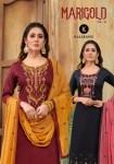 Kalarang marigold vol-2 Stylish look beautifully designed Salwar suits