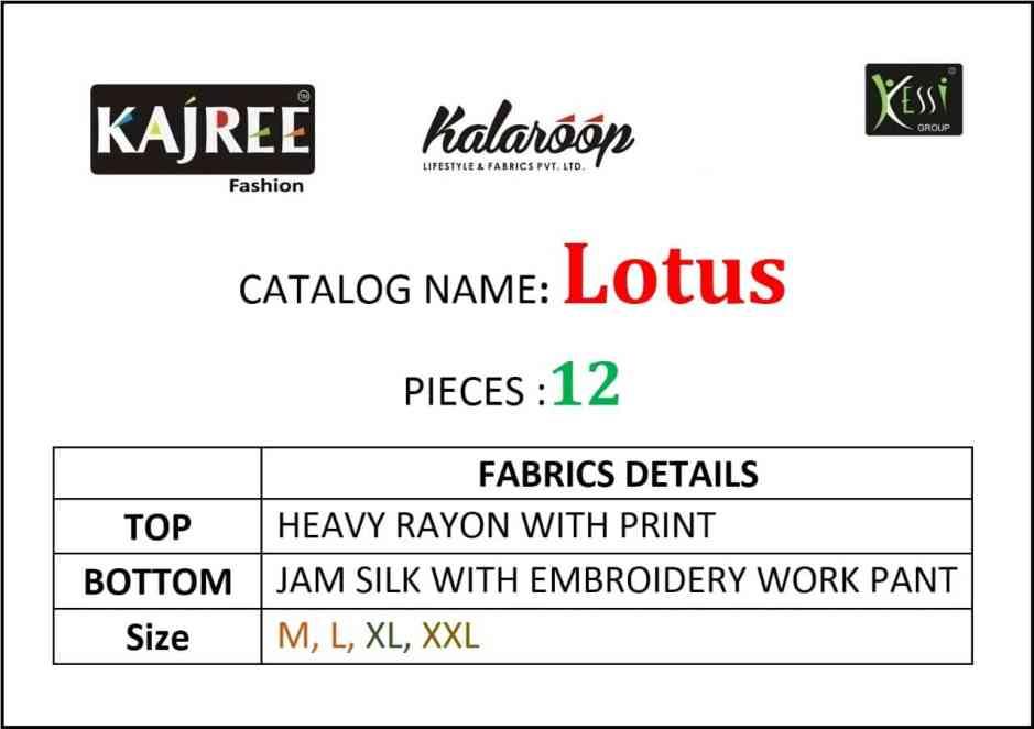 Kalaroop lotus modern and Stylish look attractive Kurties