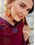 kalista  polo georgette  festive look saree catalog