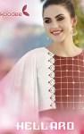 Koodee fashion hellaro rayon fabric handwork beautifull Kurties