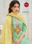 Lt nitya arena embroidered kurti with pants and dupatta Wholesaler