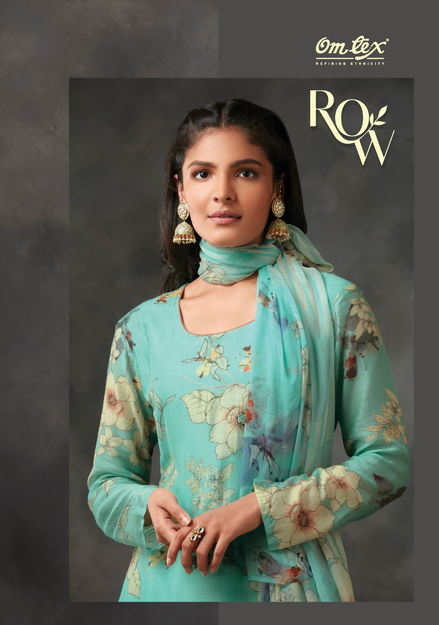 OM TEX - ROW 1321 1327 SERIES WITH CHIFFON DUPATTA