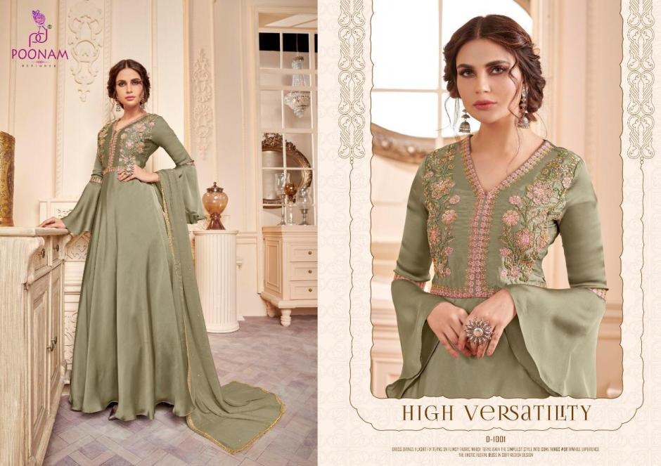 poonam designer gown attractive and classic trendy fits gowns