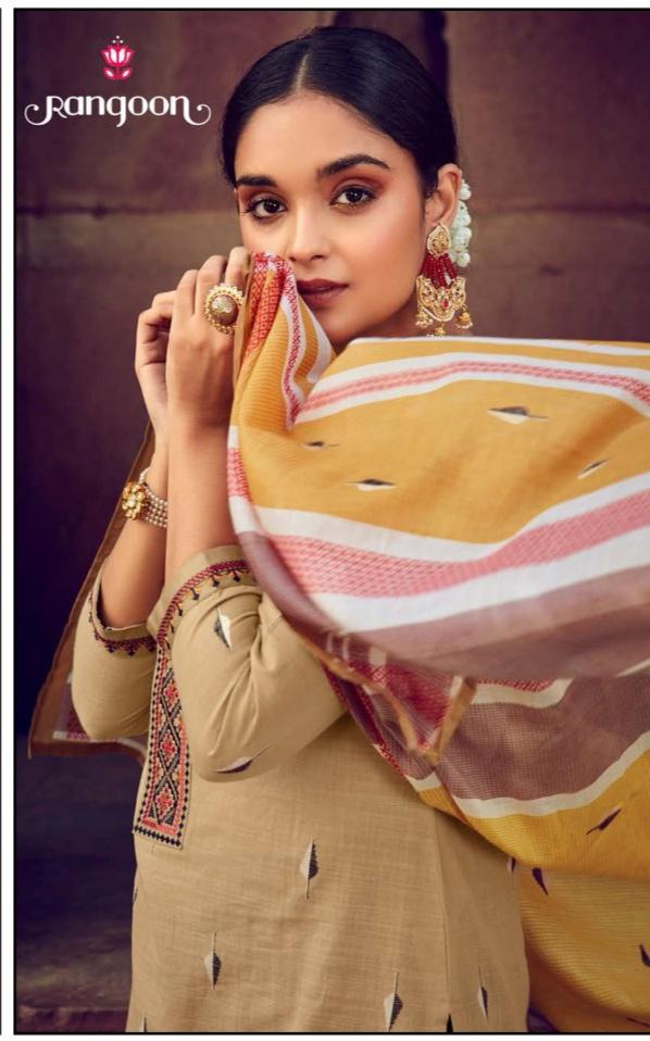 rangoon symboll viscose catchy look  kurti bottom with dupatta catalog