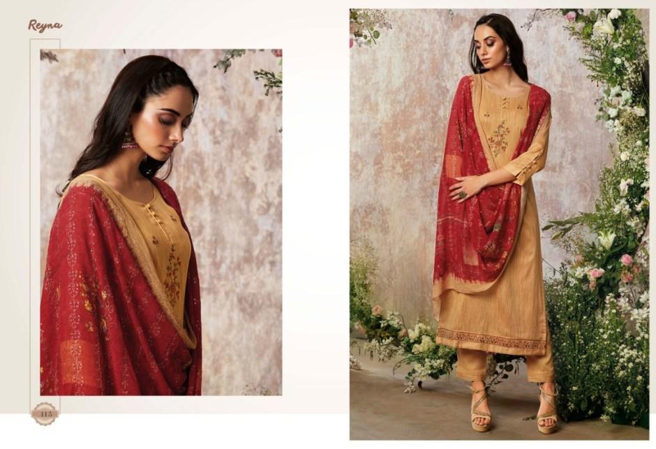 Reyna circle of flower stunning look beautifully designed modern Trendy Salwar suits