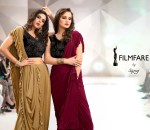 Saroj film fare a step towards glamourous life with Ready made wear sarees in wholesale prices