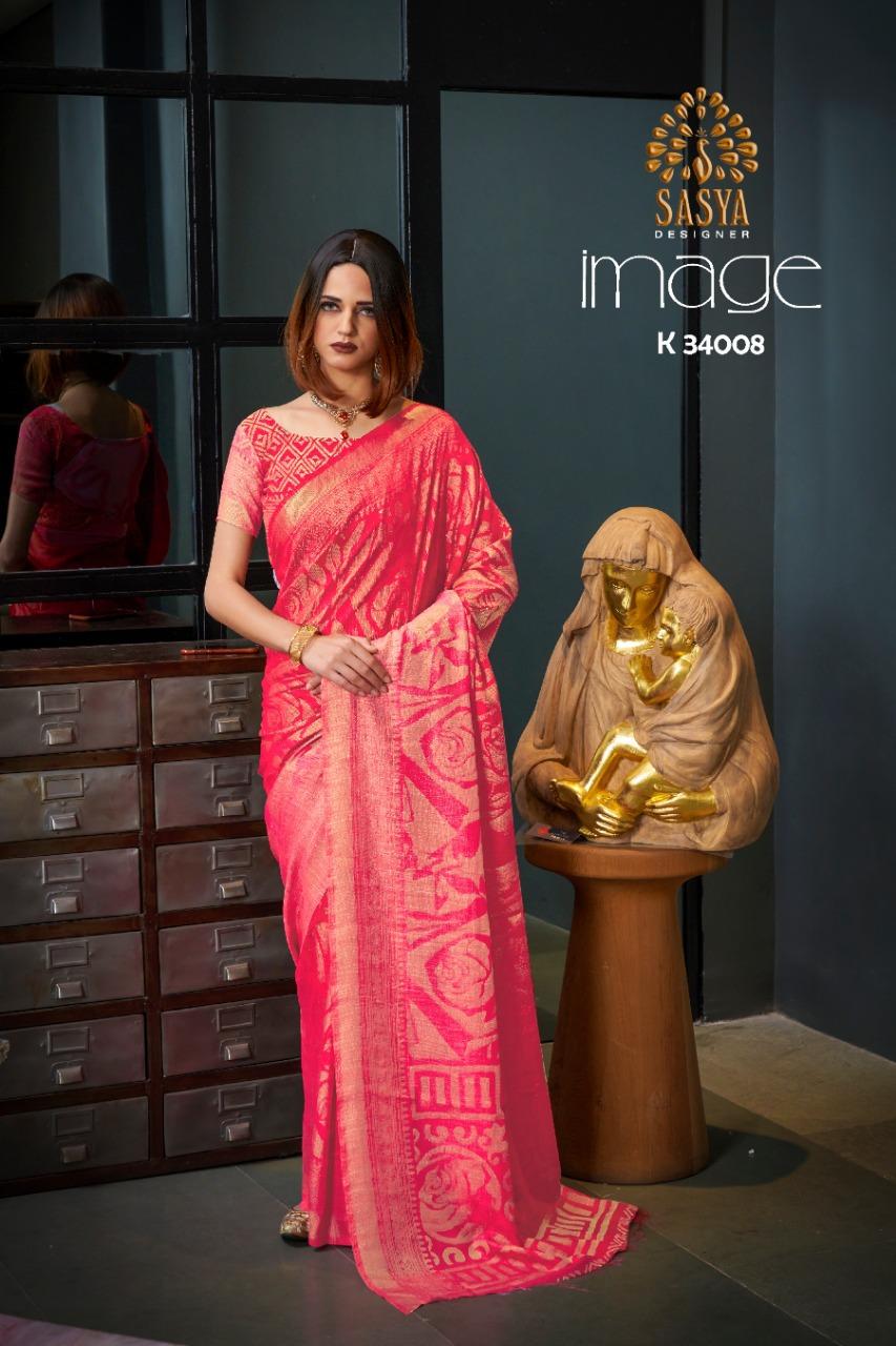 Sasya Designer image catalogue gorgeous  silk Sarees