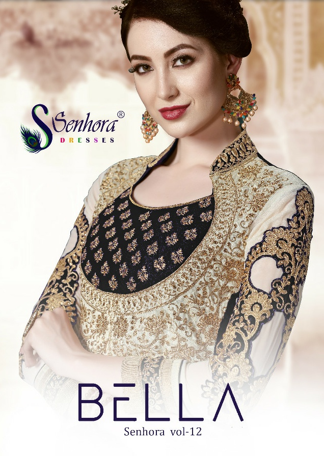 Senhora dresses Bella senhora vol-12 elegant look beautifully designed Salwar suits in factory prices