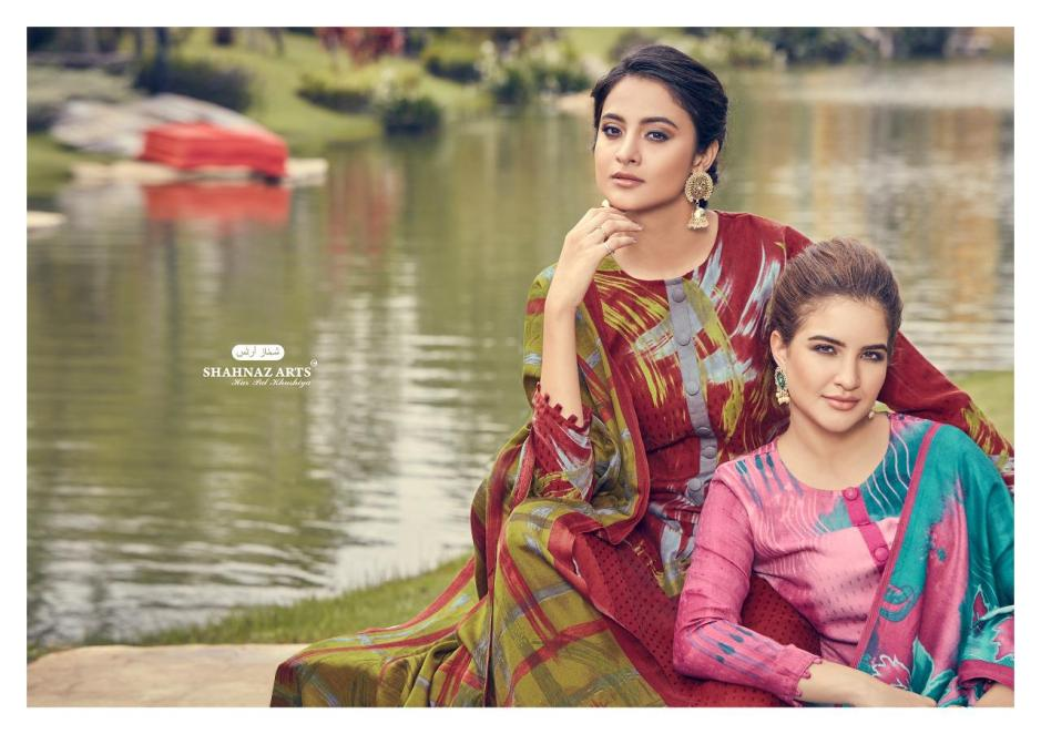 Shahnaz arts gulshan charming look Salwar suits in wholesale prices