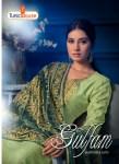 tunic house gulfam pashmina exclusive print salwar suit catalog