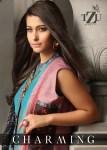 tzu charming silk catchy look long kurti catalog