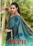 Vallabhi prints trupti 4 chiffon attractive look Beautifull Sarees catalog