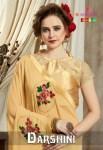 Varsiddhi darshini stunning look beautifully designed sarees