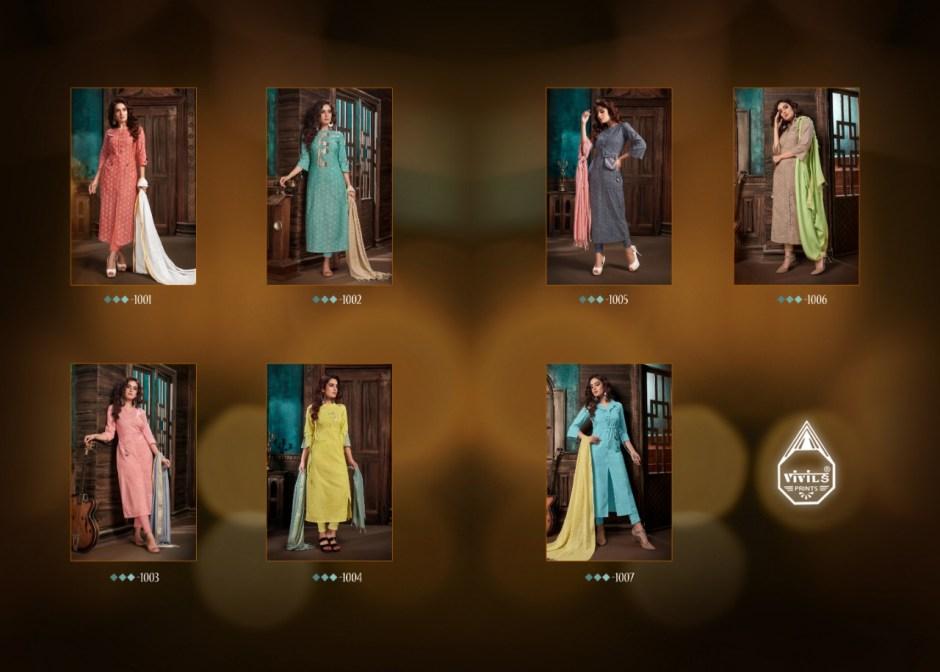 Vivils ziva charming look beautifully designed Kurties in wholesale prices