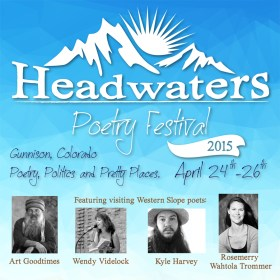 Poetry Month 2015: Headwaters Poetry Festival