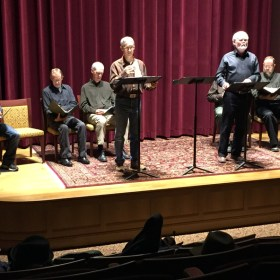 "Poetry Month 2015: ""A Marked Man"" On Stage"