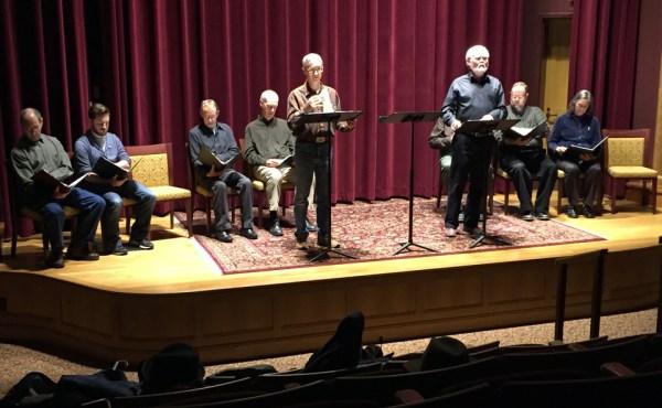 (left to right sitting) Leroy Leonard, Sean Scrutchins, Dell Domnik, Jeff Miller, Jim O'leary [behind], Dane Torbenson, Debbie Knapp; (left to right, standing) Guy Wiliams, John Samson