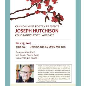 Join Me in July for Cannon Mine Poetry