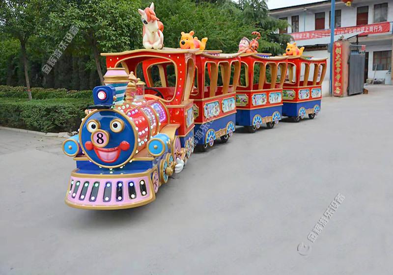 兒童無軌小火車風靡游樂行業? 金輝游樂頭條 - 金輝游樂設備