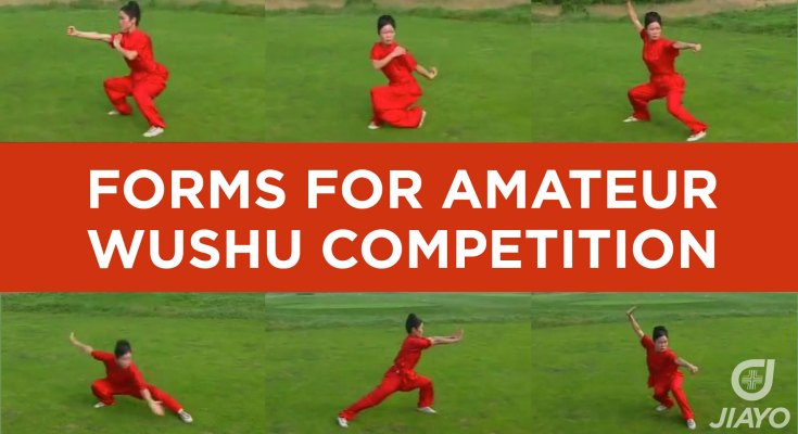 Forms for Amateur Wushu Competition