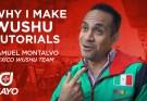 Why I Make Wushu Tutorial Videos - Samuel Montalvo