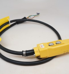 6 ft pendant control station for cm chain hoist 6 cord jibcranes com 1 jib crane supplier [ 4912 x 3264 Pixel ]