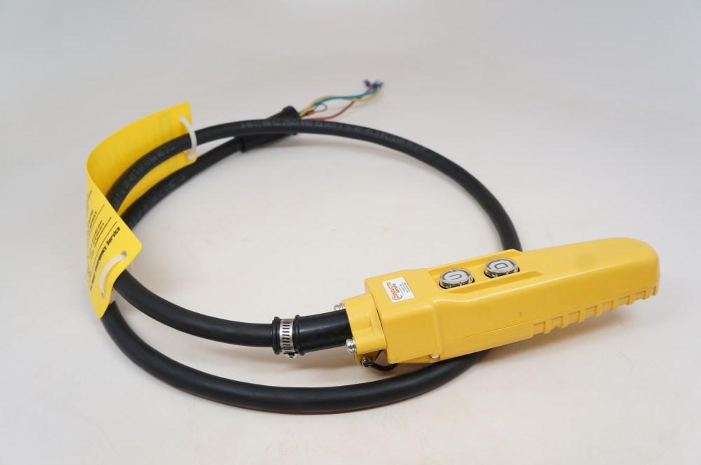 medium resolution of 6 ft pendant control station for cm chain hoist 6 cord jibcranes com 1 jib crane supplier