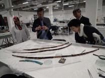 Checking the conservation work process