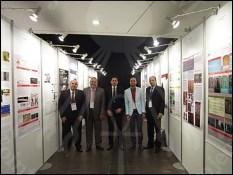صورة جماعية للمشاركين في المؤتمر من مرممي المتحف المصري الكبير